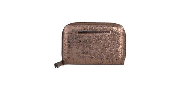 Dámská bronzová peněženka Sisley