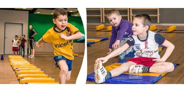 Sport pro děti. Zumba, orientální tanec, balet a další.