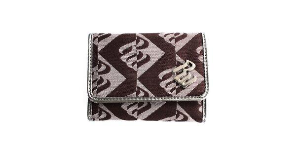 Dámská hnědá vzorovaná peněženka RocaWear