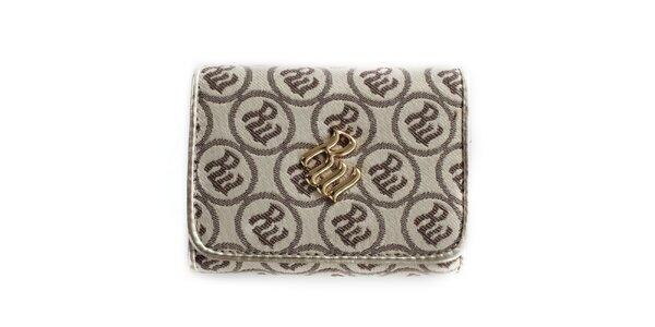 Dámská krémová peněženka se vzorem RocaWear