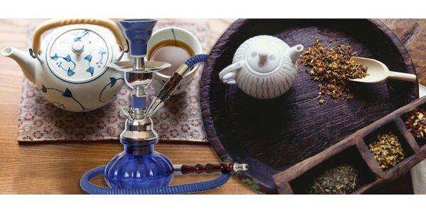 Konvička čaje pro DVA a vodní dýmka dle výběru