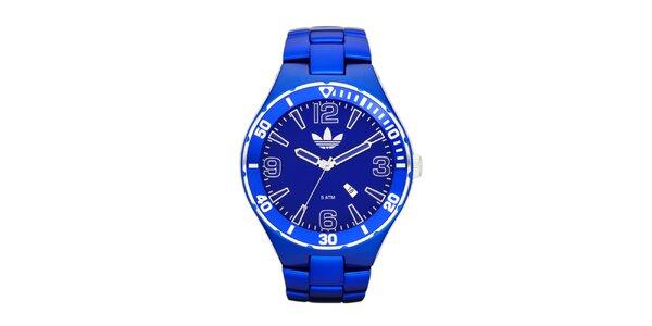 Modré sportovní hodinky Adidas