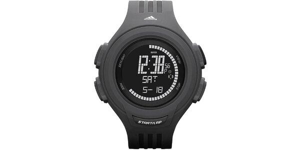 Černé sportovní hodinky Adidas