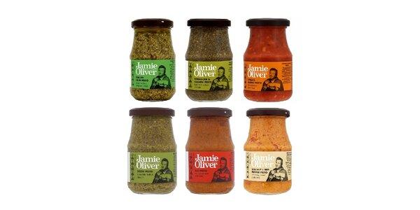 Jamieho výběr různých druhů Pesta