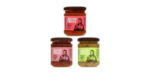 Jamieho výběr pomazánek na pečivo