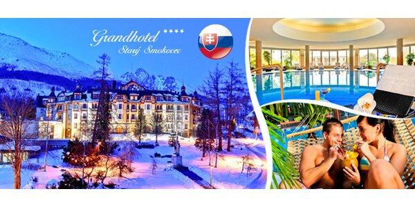 4 dny luxusu ve Vysokých Tatrách, vstup do Tatralandie