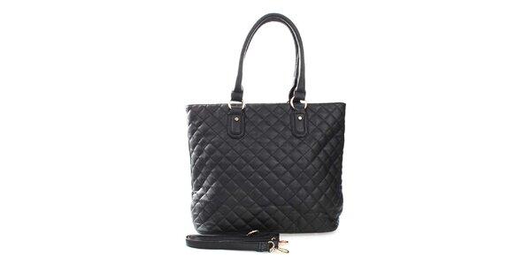 Dámská černá kabelka s odnímatelným ramenním popruhem London Fashion