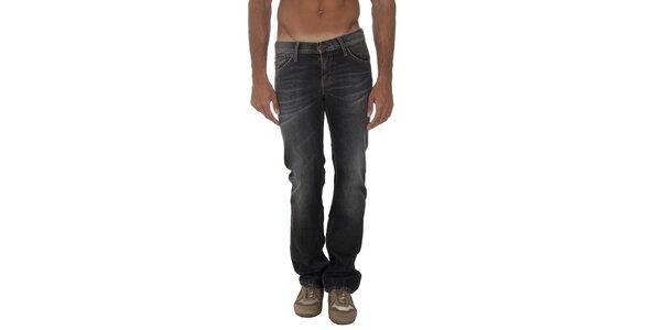 Pánské šedočerné džíny s šisováním Tommy Hilfiger
