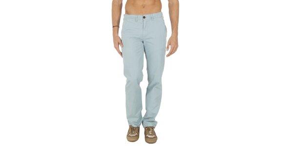 Pánské světle modré chino kalhoty Tommy Hilfiger