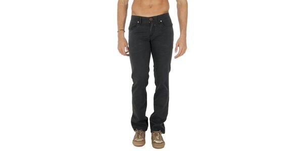 Pánské tmavě šedé kalhoty Tommy Hilfiger