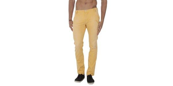 Pánské žluté kalhoty Tommy Hilfiger