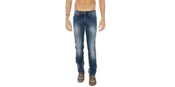 Pánské modré džíny s šisováním Tommy Hilfiger