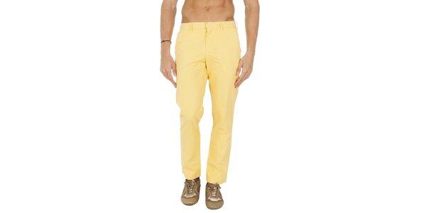 Pánské žluté chino kalhoty Tommy Hilfiger