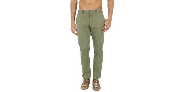 Pánské khaki chino kalhoty Tommy Hilfiger