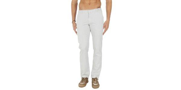 Pánské světle šedé chino kalhoty Tommy Hilfiger