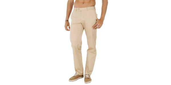 Pánské béžové kalhoty Tommy Hilfiger
