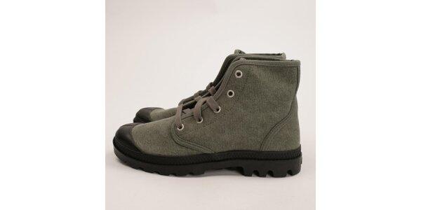 Dámské šedé boty Palladium