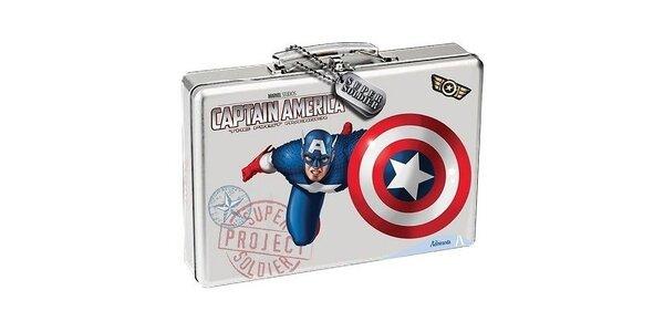 Dárková sada Captain America.Šampón a sprchový gel 300ml+ EDT 50 ml