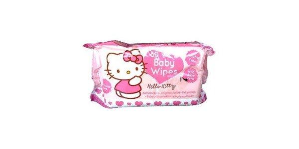 Hello Kitty - vlhčené ubrousky 80 ks, vyvinuty speciálně pro děti s příjemným…