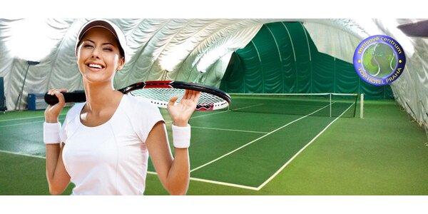 Užijte si 2 hodiny tenisu na Chodově