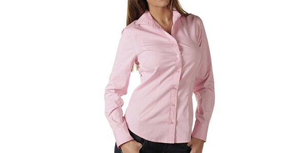 Dámská růžová košile Replay