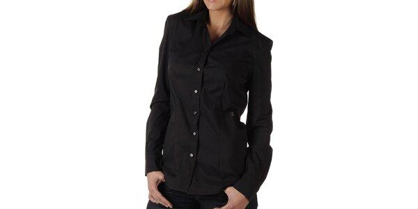 Dámská černá košile s logem Replay