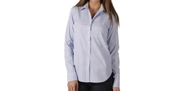 Dámská modře proužkovaná košile Replay