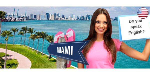 Jazykový kurz angličtiny na 4 nebo 8 týdnů v Miami