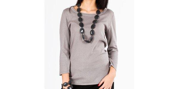 Dámský šedý svetr Emma Pernelle