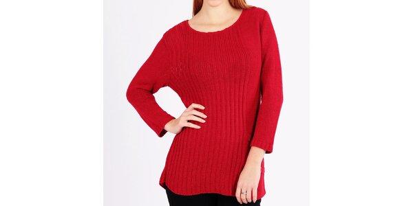 Dámský pletený rudý svetr Emma Pernelle