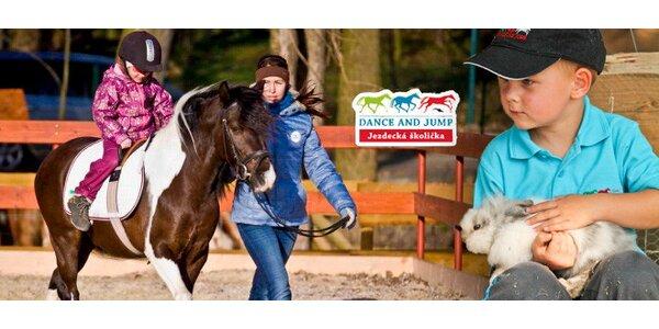 Projížďka na poníkovi a 2 hodiny u živých zvířátek