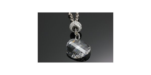 Dámský řetízek s krystalem Swarovski