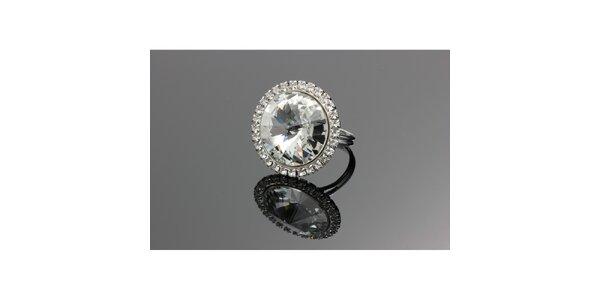Dámský prsten s krystalem Swarovski
