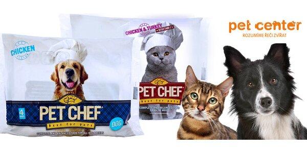32 kapsiček Pet Chef pro kočky a psy