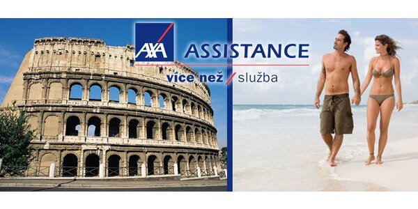 15 dní cestovního pojištění AXA ASSISTANCE jen za 149 Kč