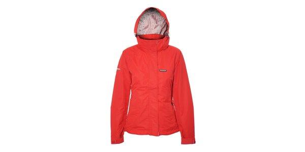 Superlehká, univerzální dámská outdoor bunda Envy v sytě červené barvě
