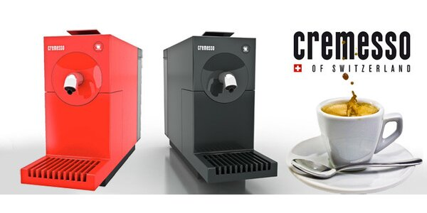 Cremesso Uno – kapslový kávovar se stylem