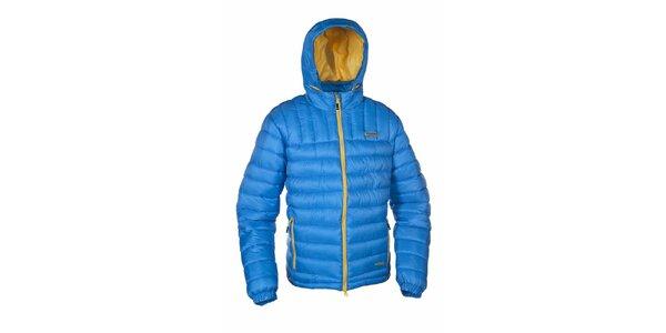 Pánská modrá zateplená bunda Envy