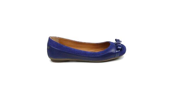 Dámské královsky modré baleríny Cubanas Shoes