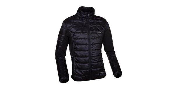 Pánská černá lehce zateplená bunda Envy