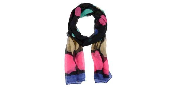 Dámský barevně potištěný šátek Invuu London