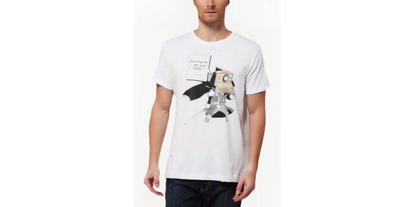 Pánské tričko s potiskem foťáku Dogo