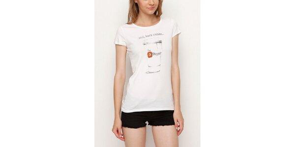 Dámské bílé tričko pro bloggerky Dogo
