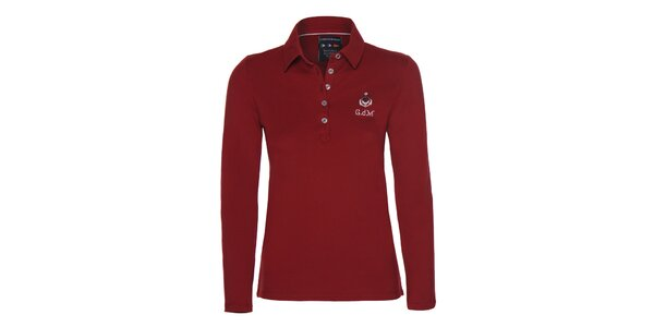 Dámské červené polo tričko Giorgio di Mare