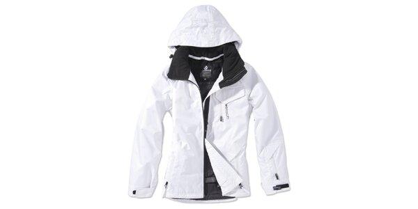 Dámská bílá zimní bunda s kapucí Brunotti