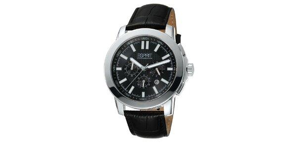 Pánské stříbrné hodinky s chronografem Esprit