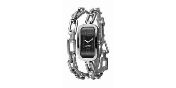 Dámské hodinky s řetízkovým náramkem Esprit