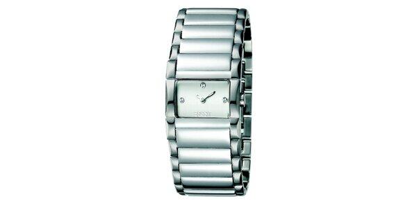 Dámské stříbrné hodinky s minimalistickým ciferníkem Esprit