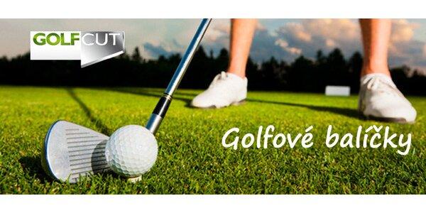Balíčky golfových fee na 3 oblíená hřiště
