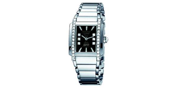 Dámské ocelové hodinky ve stříbrné barvě Esprit